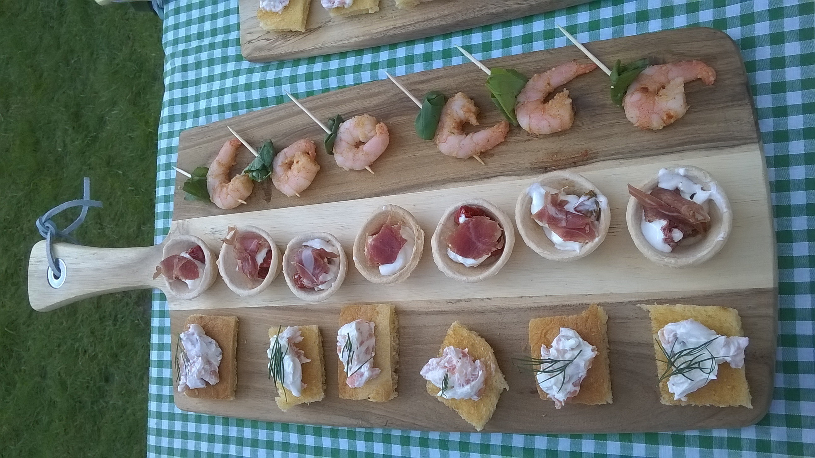 Hog Roast Canapes