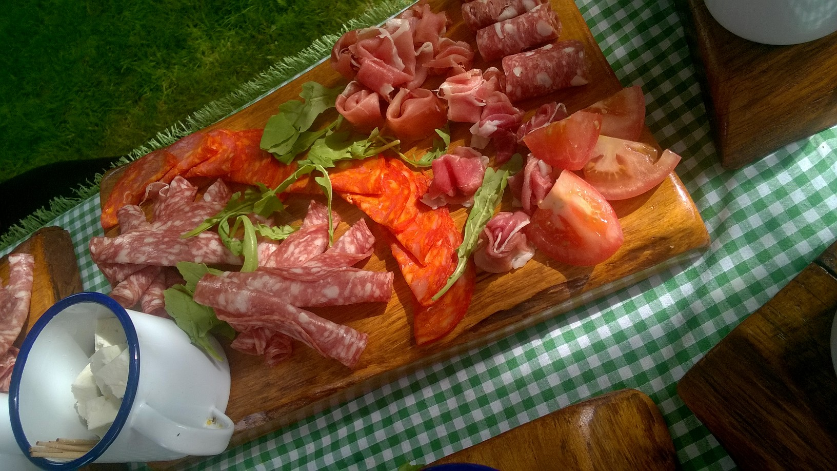 Hog Roast Italian Sharing Board