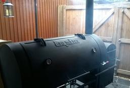 Barbecue Smoke Pit Catering