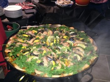 yorkshire paella catering